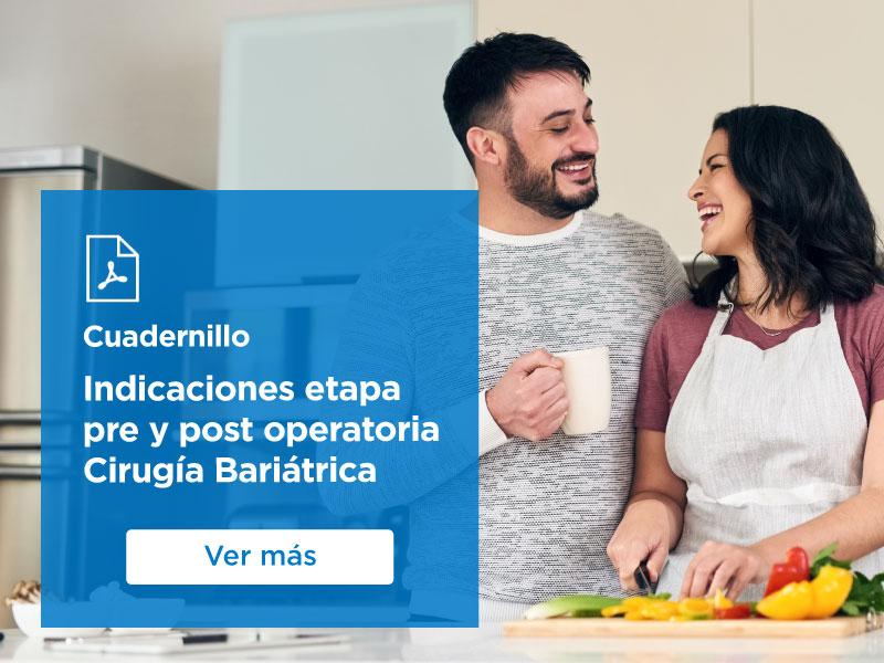 Ver Cuadernillo Indicaciones Pre y Post Operatoria